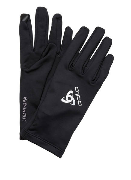 odlo Multisport-Handschuhe CERAMIWARM LIGHT, Farbe: SCHWARZ (Bild 1)
