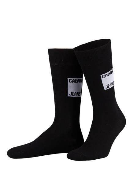 Calvin Klein 4er-Pack Socken, Farbe: SCHWARZ (Bild 1)