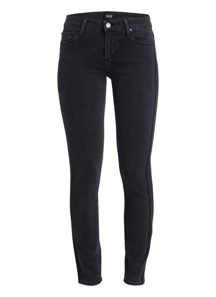 PAIGE 7/8-Jeans VERDUGO , Farbe: FADED BLACK TUX STRIPE (Bild 1)