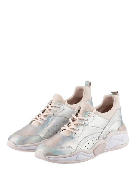 MARCCAIN Sneaker, Farbe: ROSÉ/ WEISS/ SILBER (Bild 1)