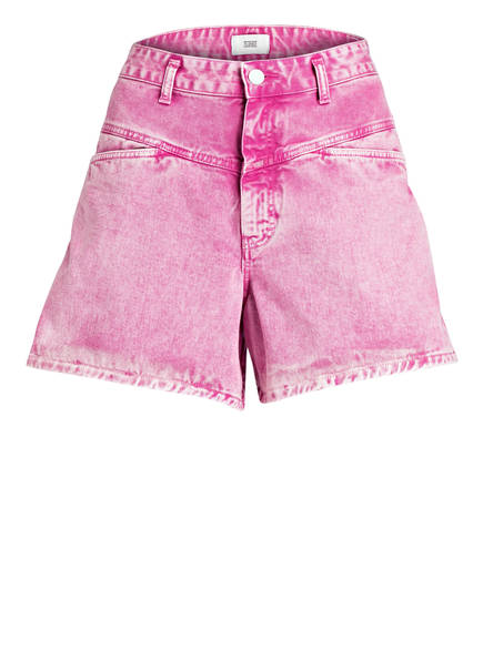CLOSED Jeans-Shorts WORKER 85', Farbe: MAGENTA/ WEISS (Bild 1)