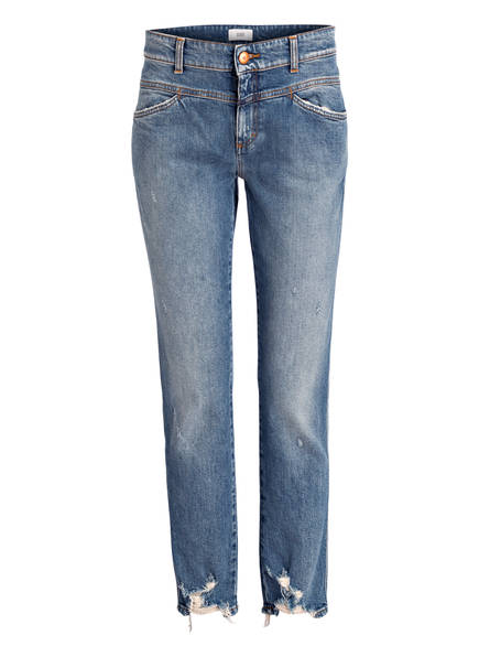 CLOSED Cropped-Jeans PEDAL QUEEN, Farbe: MBL MID BLUE (Bild 1)