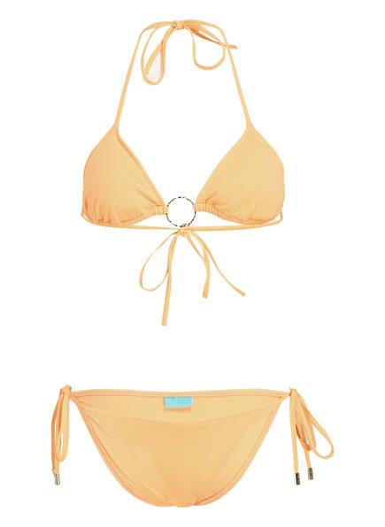 MELISSA ODABASH Triangel-Bikini MIAMI, Farbe: ORANGE (Bild 1)