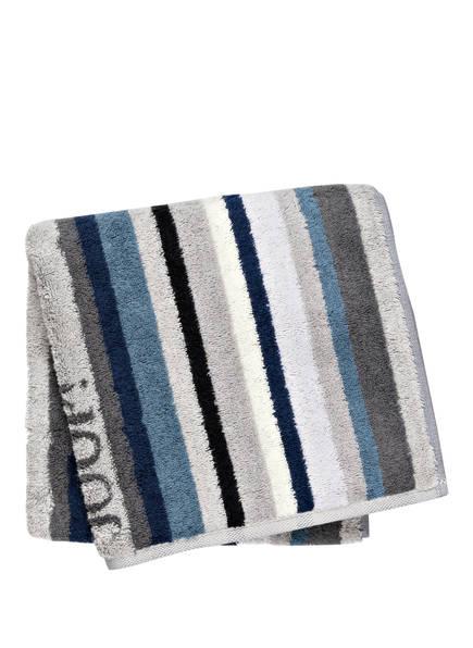 JOOP! Handtuch , Farbe: HELLGRAU/ BLAU/ CREME GESTREIFT  (Bild 1)