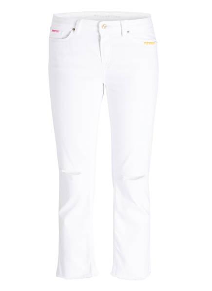 RAFFAELLO ROSSI Destroyed-Jeans SINTY, Farbe: WEISS (Bild 1)
