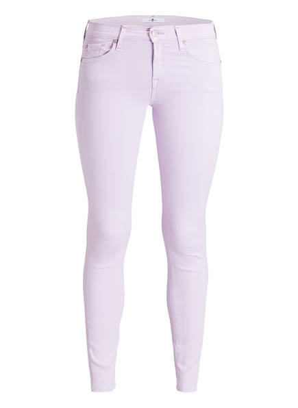 7 for all mankind Jeans THE SKINNY CROP, Farbe: ROSA (Bild 1)