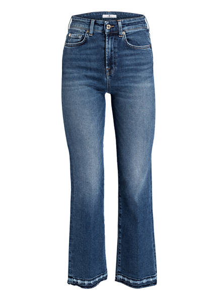7 for all mankind Cropped-Jeans, Farbe: DARK BLUE (Bild 1)