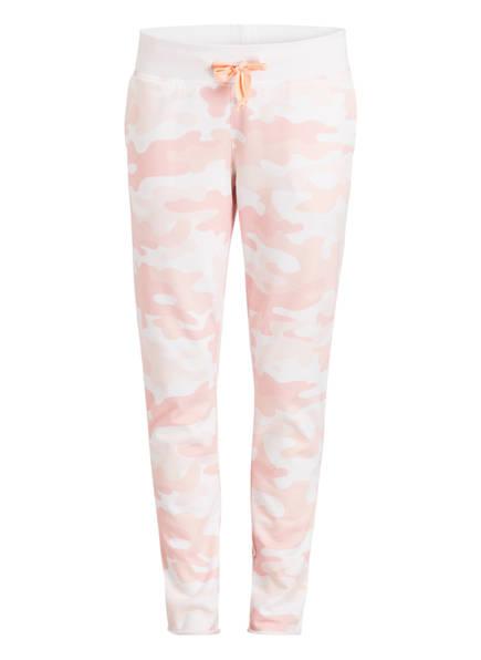 Juvia Sweatpants, Farbe: WEISS/ ROSA (Bild 1)
