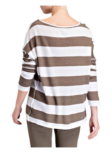 Gestreift Weiss Khaki Khaki Weiss Weiss Khaki Juvia Sweatshirt Juvia Juvia Sweatshirt Sweatshirt Gestreift Gestreift FTqPCdPw
