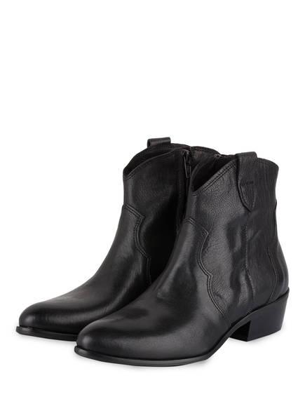 STUDIOUNO Cowboy Boots, Farbe: SCHWARZ (Bild 1)