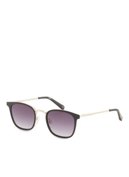 Le Specs Sonnenbrille RACKETEER, Farbe: MATT SCHWARZ/ LILA VERLAUF (Bild 1)