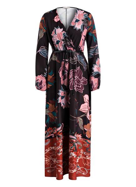RINASCIMENTO Kleid in Wickeloptik, Farbe: DUNKELBRAUN/ ROSÉ/ ROSA (Bild 1)