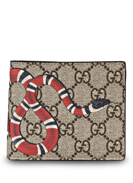 GUCCI Geldbörse GG SUPREME , Farbe: EBONY (Bild 1)