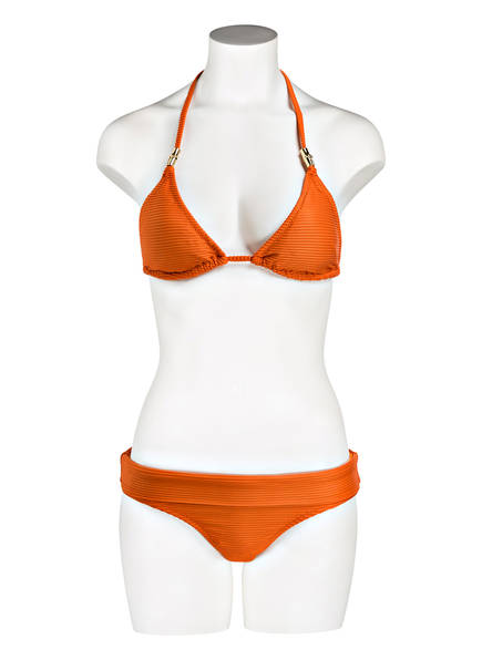 top Heidi Klein Casablanca Orange Triangel bikini qqtawr1Z