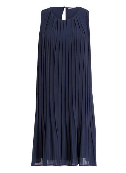 HEMISPHERE Plissee-Kleid, Farbe: DUNKELBLAU (Bild 1)
