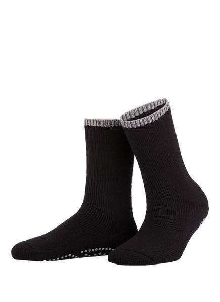 FALKE Socken CUDDLE PADS, Farbe: 3009 BLACK (Bild 1)