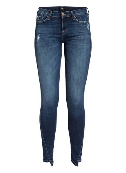 7 for all mankind Skinny-Jeans THE SKINNY CROP, Farbe: VL SLIM ILLUSION MELROSE (Bild 1)