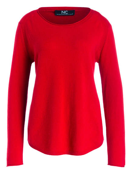 NICE CONNECTION Cashmere-Pullover, Farbe: ROT (Bild 1)