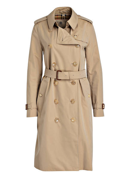 BURBERRY Trenchcoat KENSINGTON LONG, Farbe: HONEY (Bild 1)