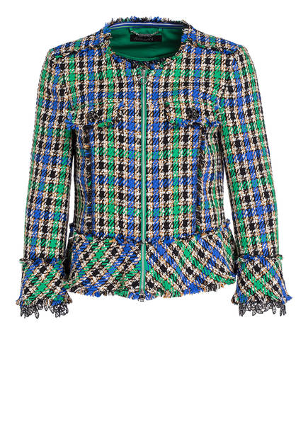 MARCCAIN Tweed-Jacke , Farbe: 558 basil (Bild 1)
