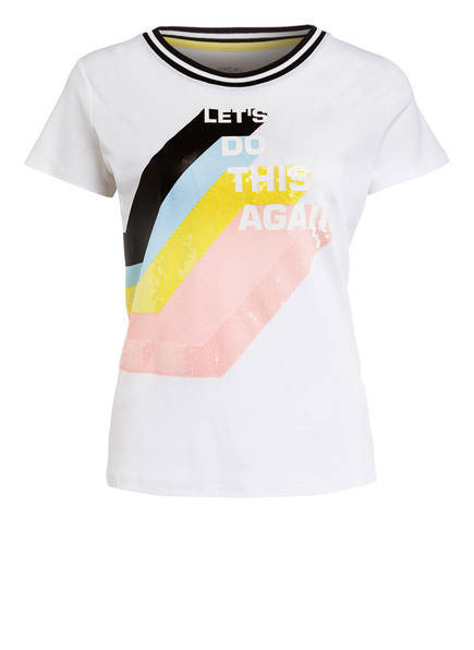 MARCCAIN T-Shirt, Farbe: 422 white (Bild 1)
