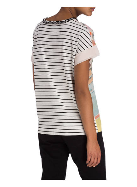 Marccain Im shirt Materialmix T 212 Shrimp n8nvBxr