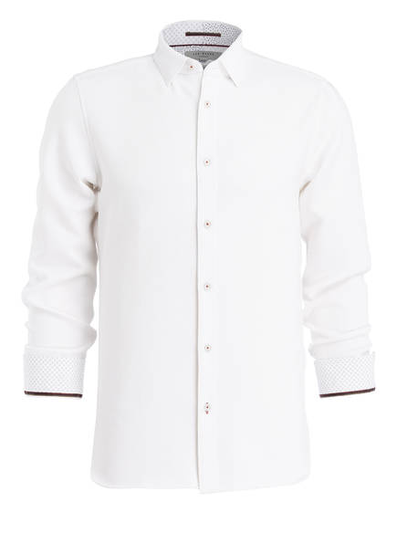 TED BAKER Hemd PICCADI Slim Fit , Farbe: WEISS (Bild 1)