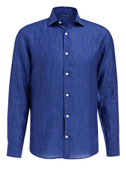 FRESCOBOL CARIOCA Leinenhemd Slim-Fit, Farbe: NAVY (Bild 1)