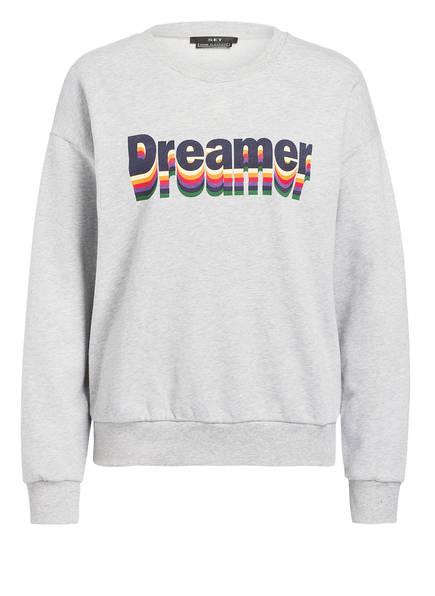 SET Sweatshirt, Farbe: GRAU MELIERT (Bild 1)