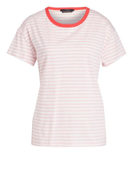 SET T-Shirt, Farbe: WEISS/ ROSA GESTREIFT (Bild 1)