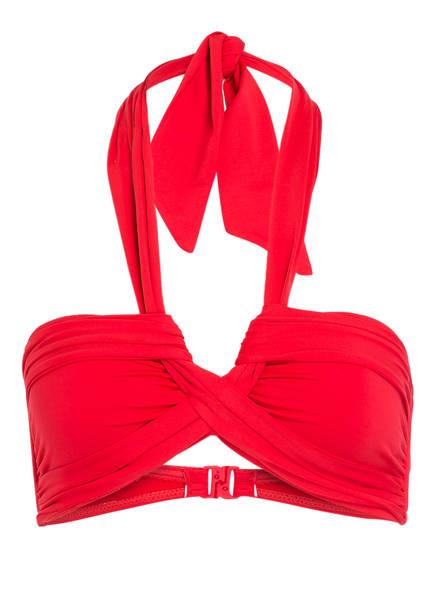 SEAFOLLY Bandeau-Bikini-Top SEAFOLLY, Farbe: ROT (Bild 1)