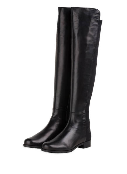 STUART WEITZMAN Overknee-Stiefel, Farbe: SCHWARZ (Bild 1)