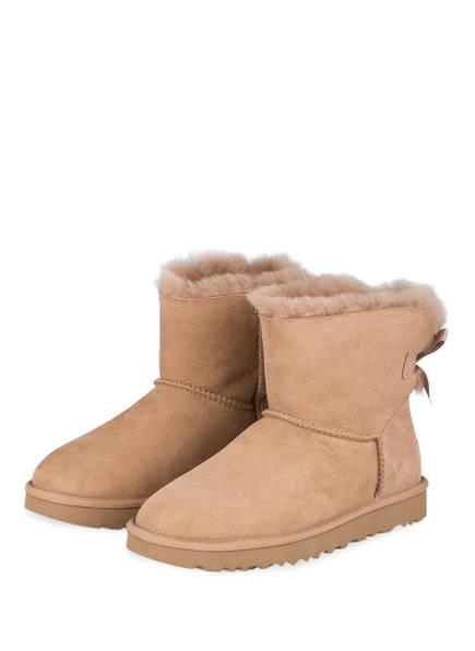 UGG Boots MINI BAILEY BOW II, Farbe: BEIGE (Bild 1)