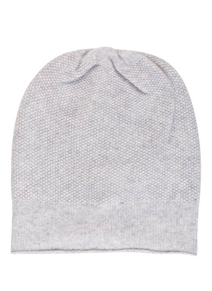 S.MARLON Cashmere-Mütze , Farbe: HELLGRAU MELIERT (Bild 1)