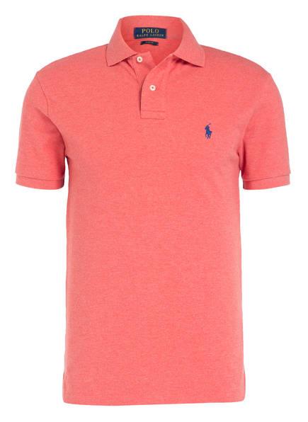 POLO RALPH LAUREN Piqué-Poloshirt Slim Fit, Farbe: HELLROT (Bild 1)