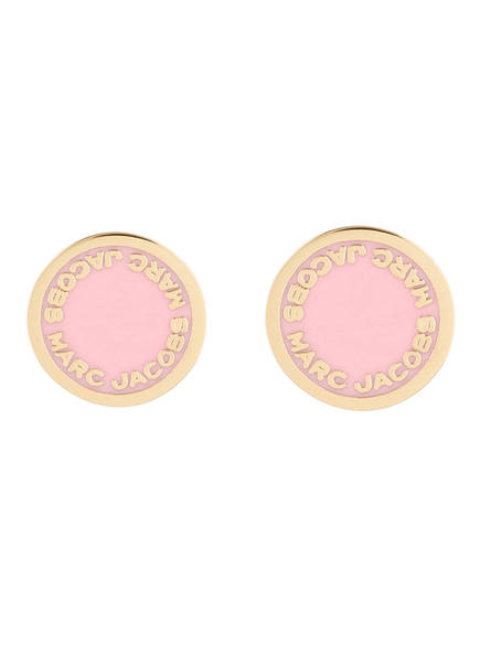 MARC JACOBS Ohrstecker, Farbe: ROSA/ GOLD (Bild 1)