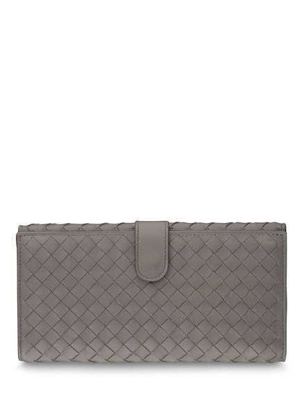 BOTTEGA VENETA Geldbörse CONTINENTAL, Farbe: NEW LIGHT GREY (Bild 1)