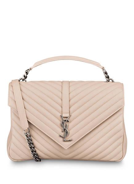 SAINT LAURENT Handtasche COLLEGE LARGE, Farbe: NATUR (Bild 1)