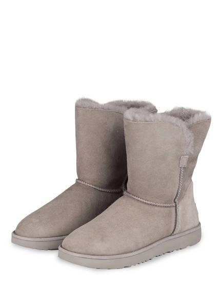 UGG Boots CLASSIC CUFF SHORT, Farbe: HELLGRAU (Bild 1)