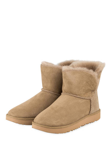 UGG Boots CLASSIC CUFF MINI , Farbe: OLIV (Bild 1)