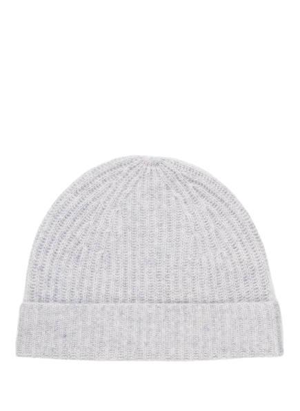 S.MARLON Cashmere-Mütze, Farbe: HELLGRAU (Bild 1)