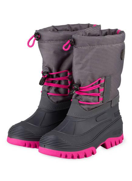CMP Boots ATHO mit herausnehmbarem Innenschuh , Farbe: GRAU/ PINK (Bild 1)