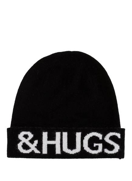 Mrs & HUGS Cashmere-Mütze , Farbe: SCHWARZ (Bild 1)