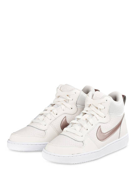 Nike Hightop-Sneaker COURT BOROUGH MID, Farbe: WEISS (Bild 1)