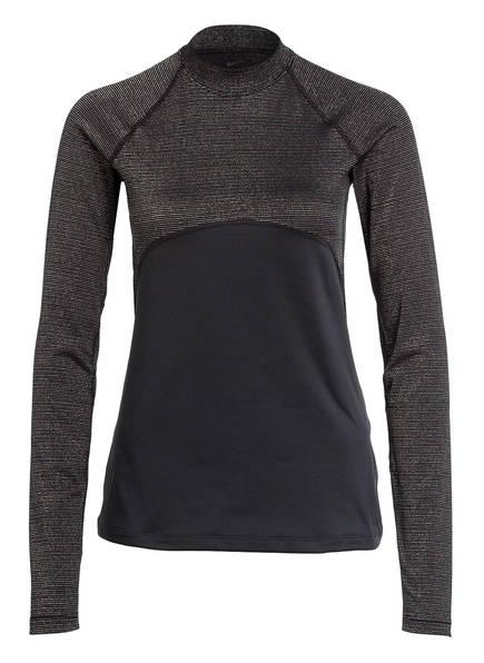 Nike Longsleeve PRO WARM, Farbe: SCHWARZ/ SILBER (Bild 1)