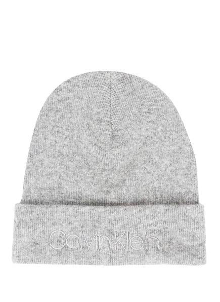 Calvin Klein Mütze, Farbe: GRAU MELIERT (Bild 1)