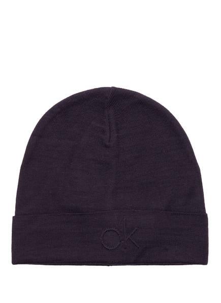 Calvin Klein Mütze, Farbe: DUNKELBLAU (Bild 1)