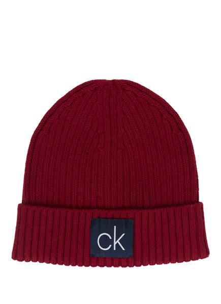 Calvin Klein Mütze, Farbe: ROT (Bild 1)