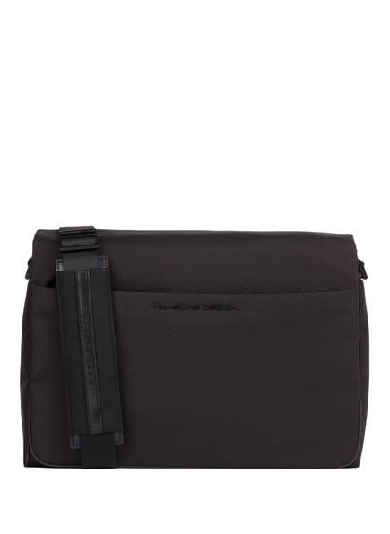 PORSCHE DESIGN Business-Tasche ROADSTER 4.0 MESSENGER , Farbe: SCHWARZ (Bild 1)