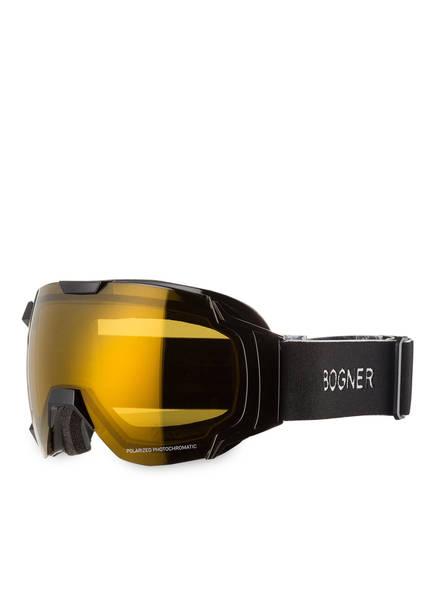 BOGNER Skibrille JUST B POLARIZED, Farbe: SCHWARZ/ GELB (Bild 1)